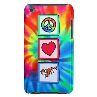 Paz, amor, langostas barely there iPod protectores