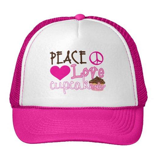 Paz, amor, magdalenas gorro