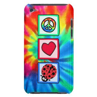 Paz, amor, mariquitas Case-Mate iPod touch cárcasas