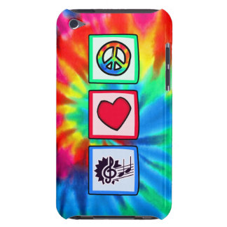 Paz, amor, música Case-Mate iPod touch protector