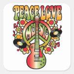 Paz-Amor-Música Etiquetas
