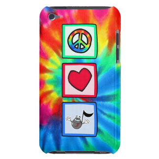 Paz, amor, música; Teñido anudado iPod Case-Mate Carcasas