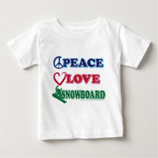 Paz-Amor-Nieve-Tablero Polera