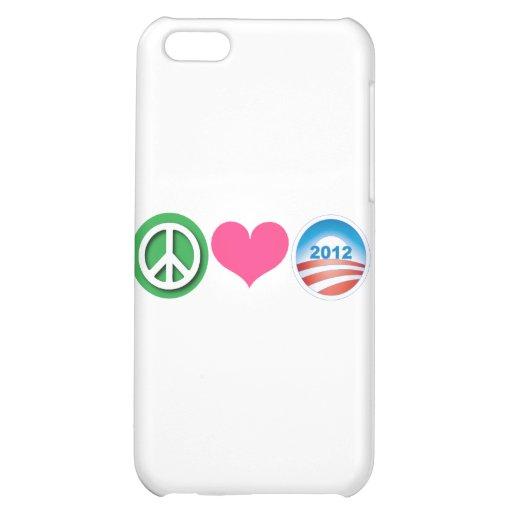Paz, amor, Obama
