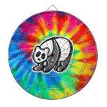 Paz, amor, pandas tabla dardos