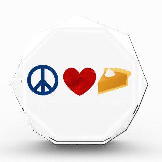 Paz, amor, pastel de calabaza