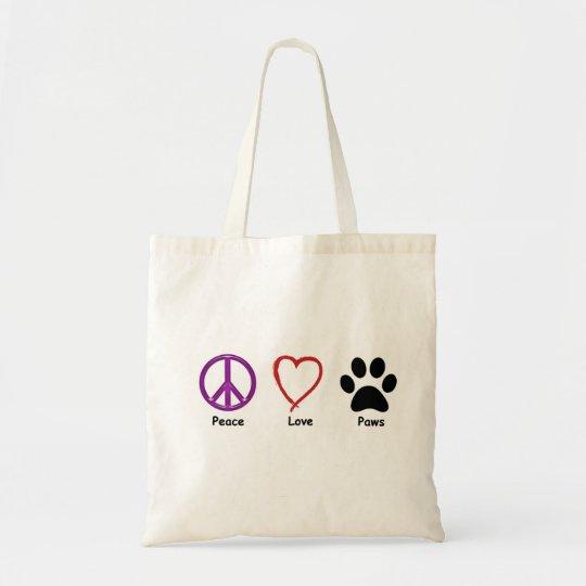 Paz, amor, patas. Es todo que un amante del mascot