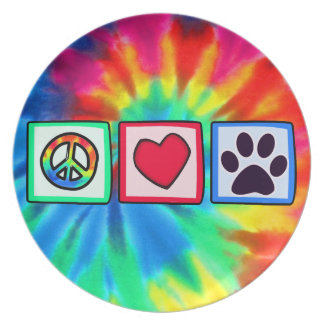 Paz, amor, perro; Pawprint Platos