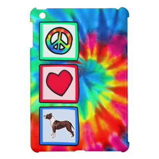 Paz, amor, Pitbulls iPad Mini Protectores