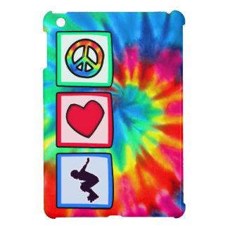 Paz amor Rollerblading iPad Mini Protectores