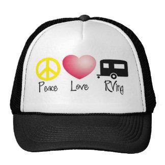 Paz, amor, RVing Gorra