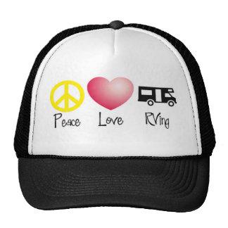 Paz, amor, RVing Gorros