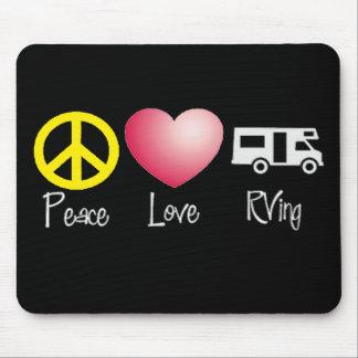 Paz, amor, RVing Tapetes De Raton