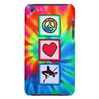 Paz, amor, salto de altura iPod touch cobertura