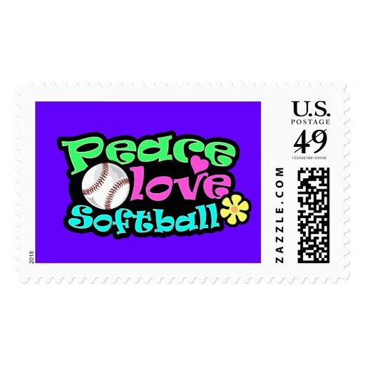 Paz, amor, softball franqueo
