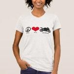 Paz • Amor • Sportbikes Camiseta