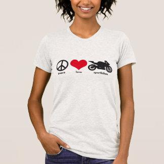 Paz • Amor • Sportbikes Remera
