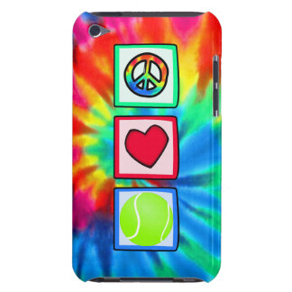 Paz, amor, tenis Case-Mate iPod touch protector
