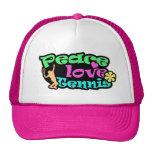 Paz, amor, tenis; Retro Gorra