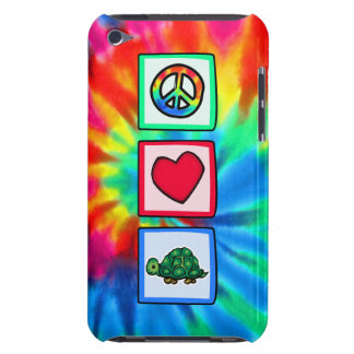 Paz, amor, tortugas iPod touch cárcasa