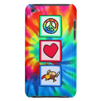 Paz, amor, Trojan Case-Mate iPod Touch Funda