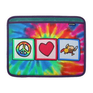 Paz, amor, Trojan Fundas Macbook Air