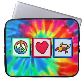 Paz, amor, Trojan Fundas Computadoras
