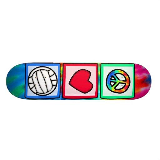 Paz, amor, voleibol monopatines personalizados
