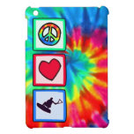 Paz, amor, Wakeboarding iPad Mini Protectores