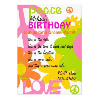 Paz, amor y fiesta comunicados