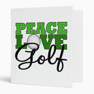 Paz, amor y golf