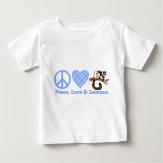 Paz, amor y Lemurs Camiseta