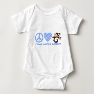 Paz, amor y Lemurs T-shirt