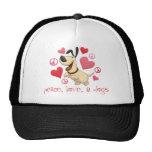 Paz, amor, y perros gorras