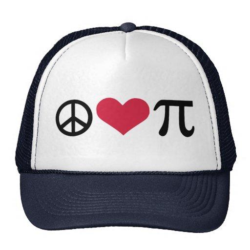 Paz, amor y pi gorras