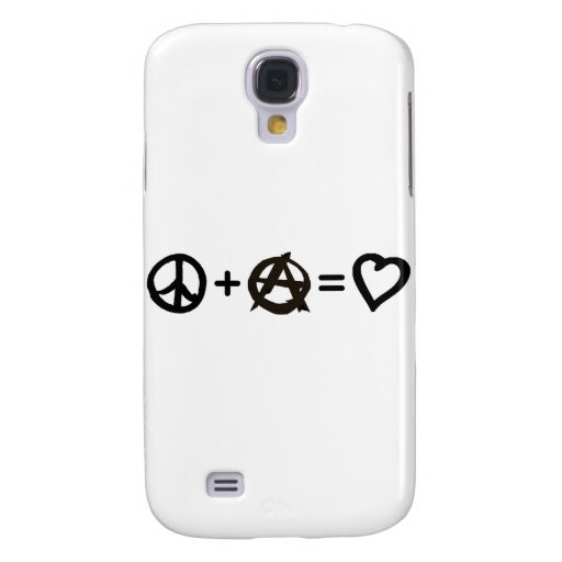 Paz + Anarquía = amor