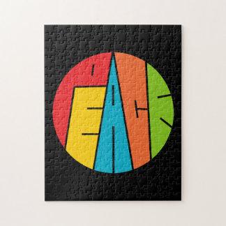 Paz - arte de la palabra puzzle