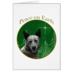 Paz australiana del perro del ganado tarjeton