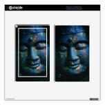 Paz azul de Buda OM Pegatina Skin Para Kindle Fire