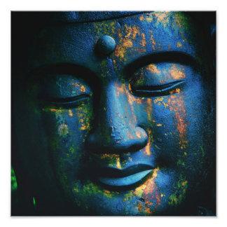 Paz azul de Buda OM