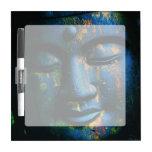 Paz azul de Buda OM Pizarras