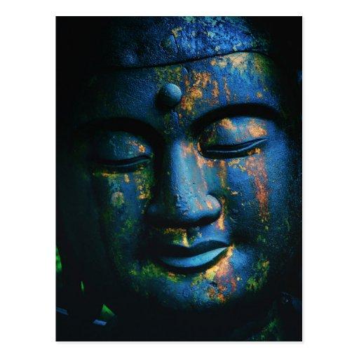 Paz azul de Buda OM Postal