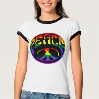 Paz - bandera gay playera