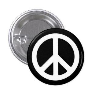 Paz BnW Pin Redondo 2,5 Cm