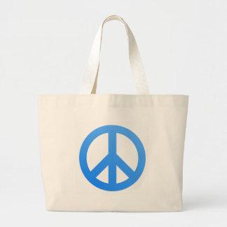 ¡Paz! Bolsa Tela Grande