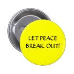 ¡PAZ! - botón Pins