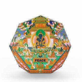 Paz Buda: Akshobhya: Pisapapeles de la figurilla