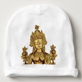 Paz budista del arte de Tíbet de la yoga de la Gorrito Para Bebe
