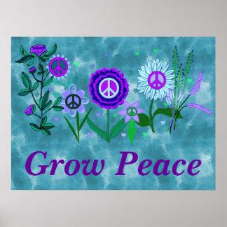 Paz cada vez mayor poster
