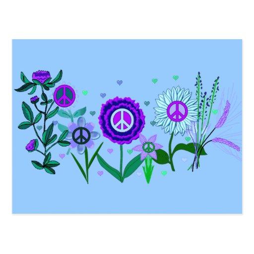 Paz cada vez mayor postales